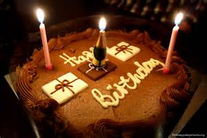 kuchen kerzen happy birthday chocolate cake with candles wallpaper