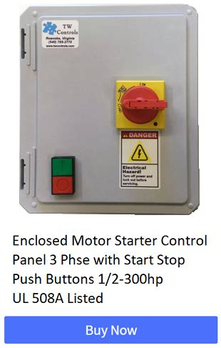 2 Push Button Start Stop Diagram Wedocable 3 Wire Start Stop Circuit