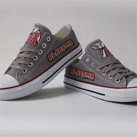 alabama football shoes alabama crimson tide converse style shoes http