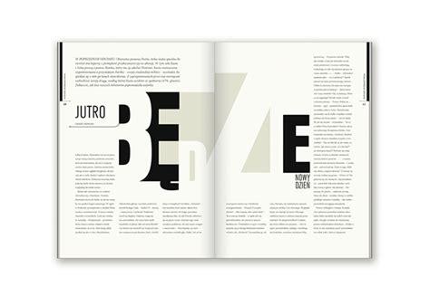 design magazine poland editorial design bluszcz magazine on typography served
