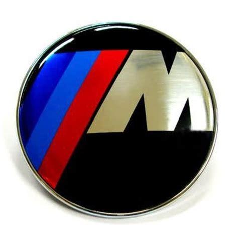 Emblem Stir Bmw M Power 45mm bmw m power logo 45mm steering wheel emblem badge sticker