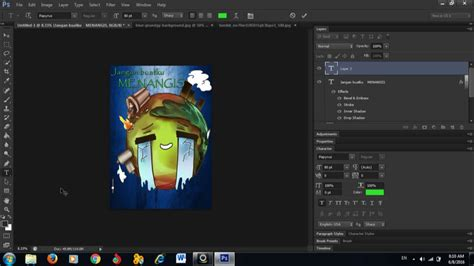 membuat poster adobe photoshop tutorial membuat poster menggunakan adobe photoshop cs6