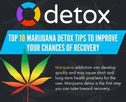 Marijuana Detox Tips by 10 Improved Marijuana Detox Tips To Help Your Recovery