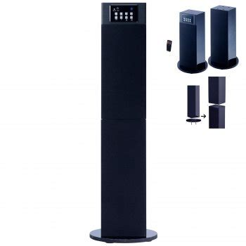 craig electronics cht914c stereo home theater tower