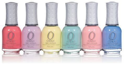 orly sweet collection of pastel nail lacquer the