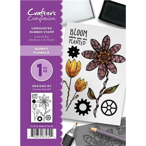 unmounted rubber st crafter s companion florals unmounted rubber st