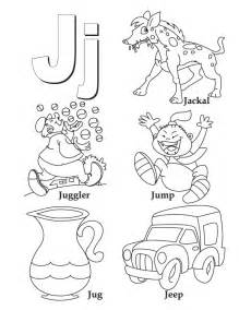 letter j coloring page j is for coloring pages
