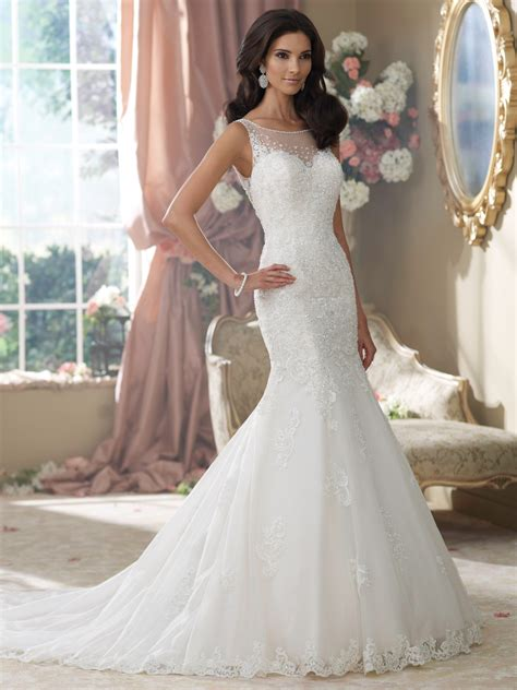 above delicate lace hand beaded with hundreds of glass beads soft david tutera wedding dresses 214207 aly