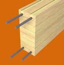portata travi lamellari rinforzo strutturale per travi lamellari legno armato