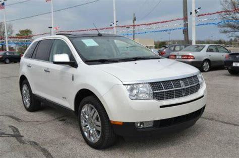 purchase used 2009 lincoln mkx in 4080 lafayette rd indianapolis indiana united states for