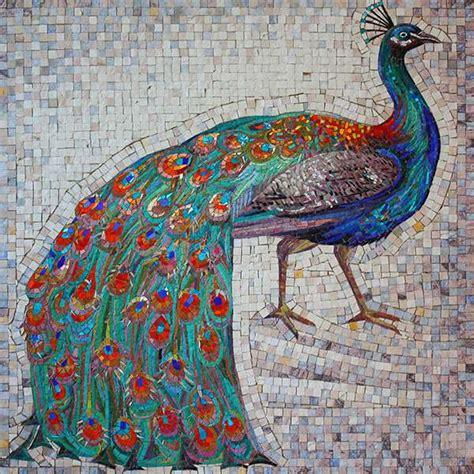 mosaic pattern peacock fine feathers mosaic peacock flamboyance mozaico blog