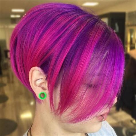 40 versatile ideas of purple highlights for blonde brown 40 versatile ideas of purple highlights for blonde brown and red hair