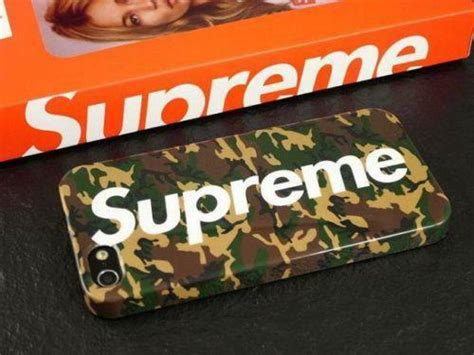 supreme iphone case ebay