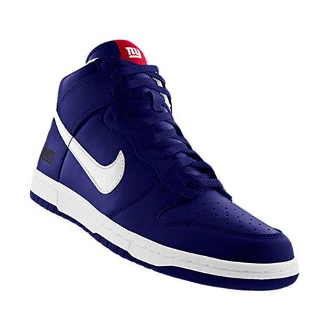 Handmade Shoes New York - nikeid custom nike dunk high nfl new york giants id
