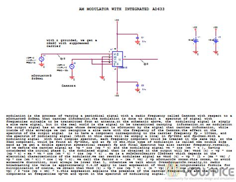 linear integrated circuit basics linear integrated circuit am modulator 28 images am modulator with integrated ad633 youspice