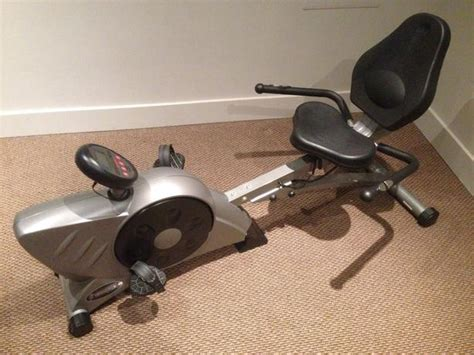 reclining stationary bike freespirit recumbent reclining exercise bike computer