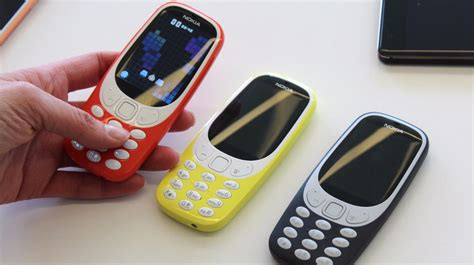 nokia mobile new model nokia reveals new look 3310 mobile phones alongside new