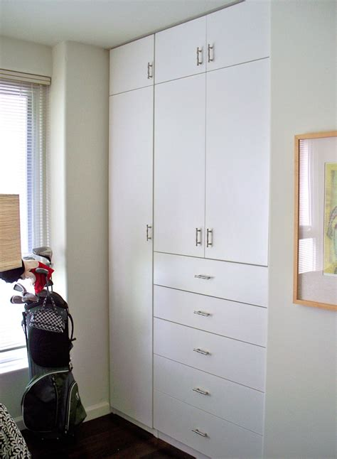 White Closet System Beds With Closets Studio Design Gallery Best Design