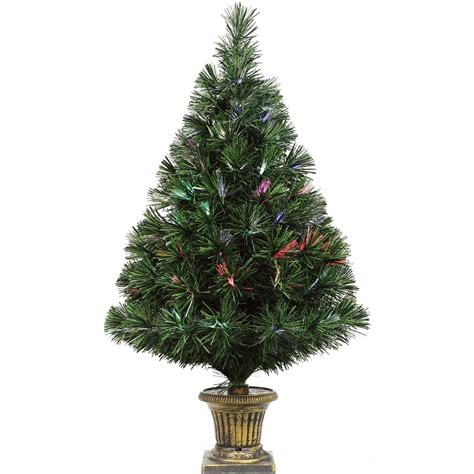 christmas optical fiber trees 32 inches melbourne big w puleo 32 in fiber optic tree with base trees stands home appliances shop