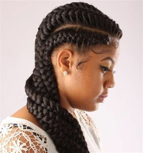 braided to the scalp hairstyles for black people 60 inspiring exles of goddess braids