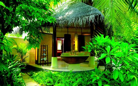 home wallpaper cool open air bathroom hd wallpaper dreamlovewallpapers
