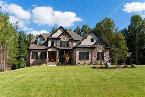 house photo large suburban house stock editorial photo 169 kzlobastov