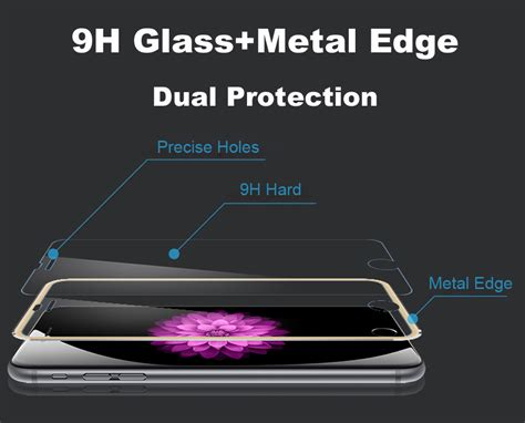 Iphone 7 Tempered Glass Screen Cover Limited 1 3d titanium tempered glass screen protector for iphone 6s