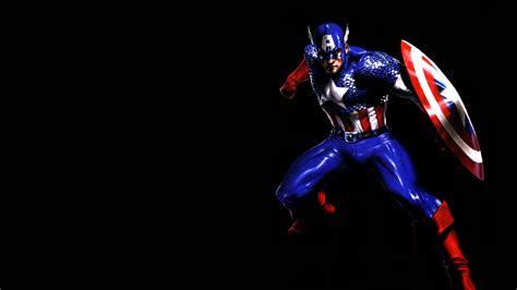 captain america dark wallpaper captain america on black