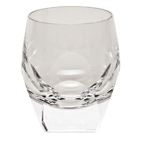 moser barware moser bar 7 3oz double old fashioned glass clear