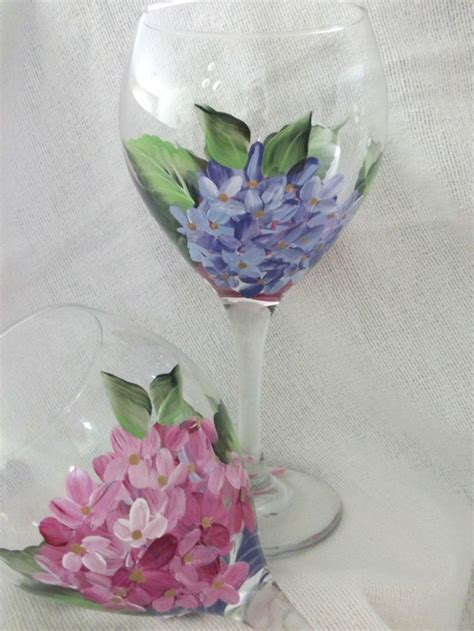 117 best images about painted glass flowers on