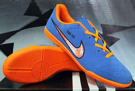Sepatu Nike Futsal Sb 10 jual sepatu futsal nike tiempo sb10 biru murah berkualitas