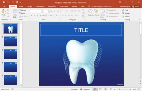 free dental powerpoint templates free dental powerpoint templates