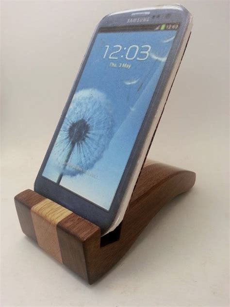 cell phone holder for desk smart cell phone holder desk accessory wood stand