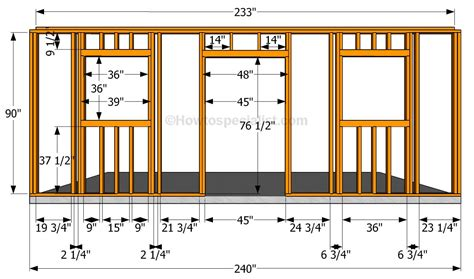 build a wall how to build a detached garage howtospecialist how to build step by step diy plans