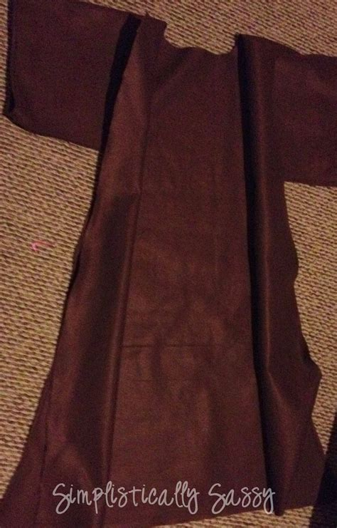 jedi robe tutorial 17 best images about on jedi robe