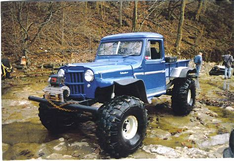 jeep willys lifted lifted willys jeep truck