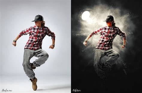 light runner photoshop action light effect photoshop action actions creative market