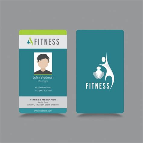 id card templates free id badge templates free sle exle format