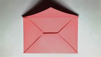 How To Make A Simple Envelope Out Of Paper - paper envelope how to make a paper envelope without glue