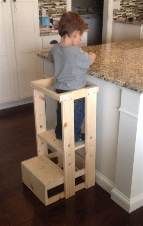toddler step stool tot tower adjustable step stool diy