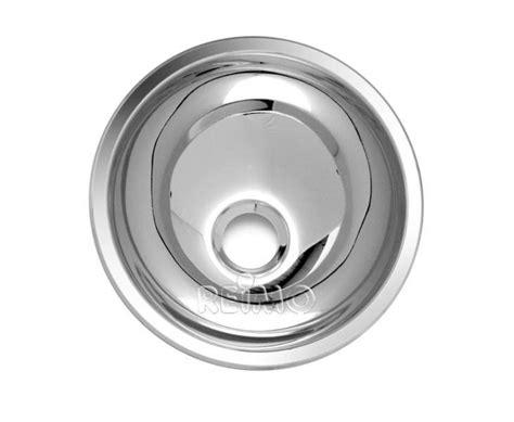 einbauwaschbecken edelstahl waschbecken rund edelstahl 265 x 120 mm dometic