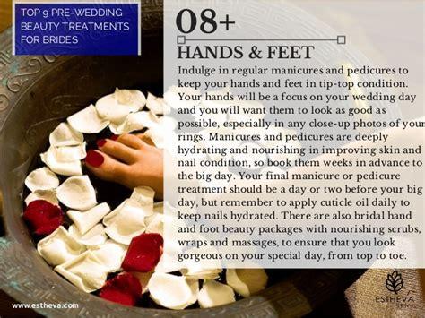 Pre wedding Beauty Treatments for Brides