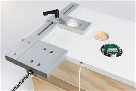Cabinet Hardware Installation Jig by True Position Jigs