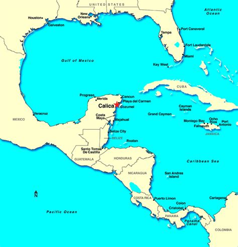 map of cancun mexico mexico cancun map