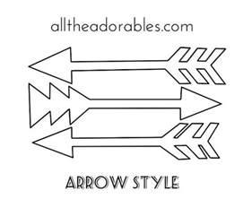 arrow templates free arrow fabric freezer paper stencils for fabric painting
