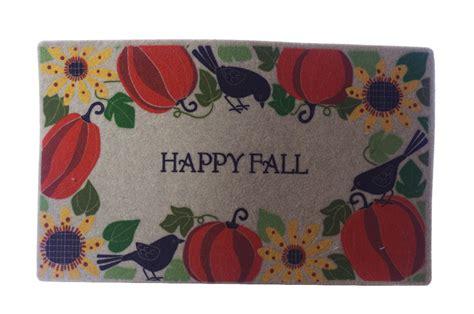 Fall Outdoor Mats Mohawk Fall Harvest Autumn Outdoor Rug Bird Thanksgiving