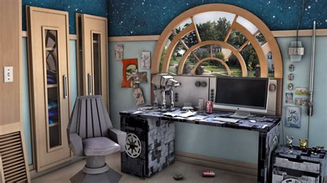 star wars themed room 3d star wars themed bedroom youtube