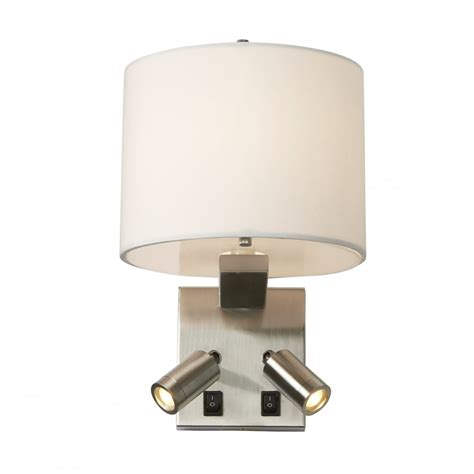bed lighting over bed wall light with twin led book lights for reading