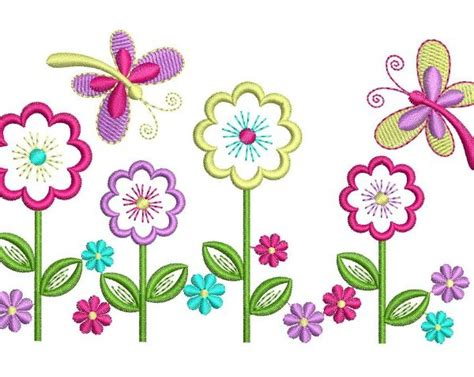 embroidery and applique designs applique flowers and butterflies embroidery design best