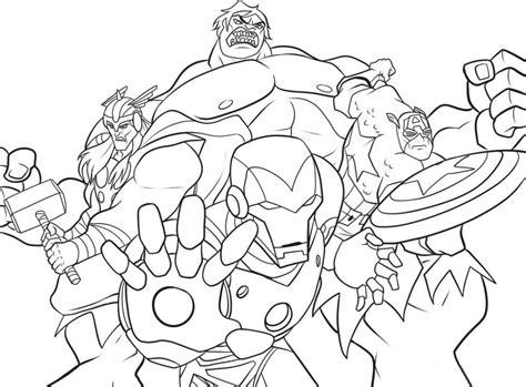 avengers coloring sheets coloringpages4kidz com